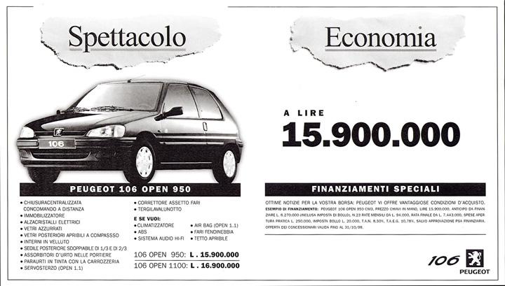 Peugeot106-spettacolo